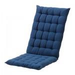 ХОЛЛО Подушка спинная/на сиденье - синий