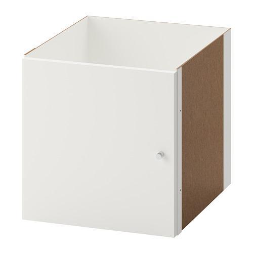 КАЛЛАКС Вставка с дверцей - белый