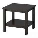 ХЕМНЭС Придиванный столик - черно-коричневый