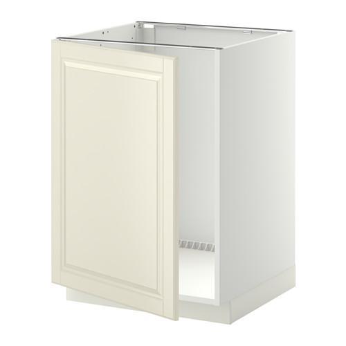 МЕТОД Напольный шкаф для раковины - Будбин белый с оттенком, белый