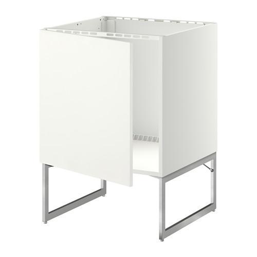 МЕТОД Напольный шкаф для раковины - Хэггеби белый, белый