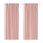 HANNALENA curtains, 1 pair white