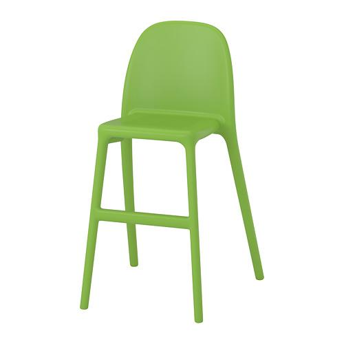 УРБАН Детский стул - зеленый