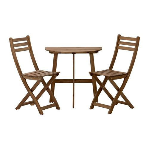 nonopaskholmen bord 4klappstoler