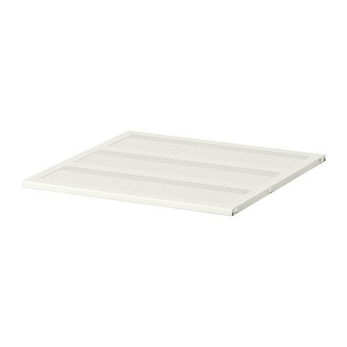 АЛЬГОТ Полка - металл белый, 60x58 см