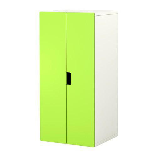 СТУВА Комбинация для хранения с дверцами - белый/зеленый