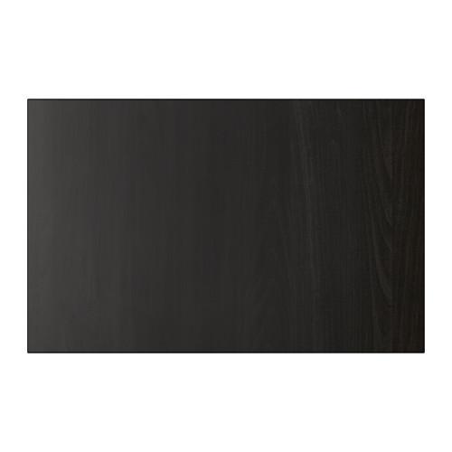 ЛАППВИКЕН Дверь/фронтальная панель ящика - черно-коричневый