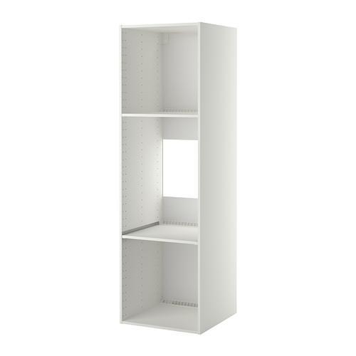 МЕТОД Каркас высокого шкафа д/духов/холод - белый, 60x60x200 см