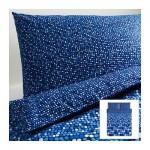 СМОРБОЛЬ Пододеяльник и 2 наволочки - синий, 200x200/50x70 см