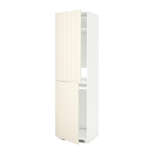 МЕТОД Высок шкаф д холодильн/мороз - 60x60x220 см, Хитарп белый с оттенком, белый