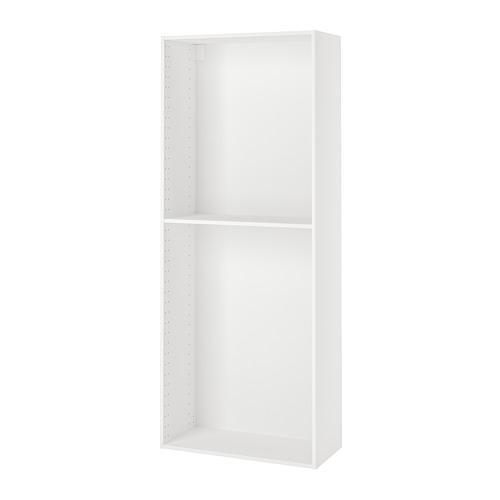 МЕТОД Каркас высокого шкафа - 80x37x200 см, белый