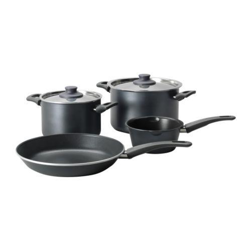 SKÄNKA Kjøkkenutstyr, 6 PED. grå