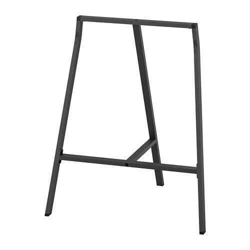 ЛЕРБЕРГ Опора для стола - серый