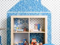Rumah boneka dari rak IKEA CALLAX