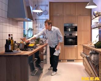 Интерьер кухни IKEA