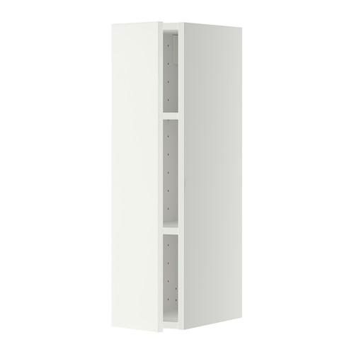 МЕТОД Шкаф навесной с полкой - 20x80 см, Хэггеби белый, белый