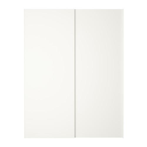 ХАСВИК Пара раздвижных дверей - 150x201 см