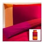 БРУНКРИСЛА Пододеяльник и 1 наволочка - красный, 150x200/50x70 см