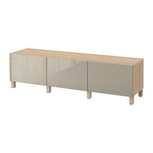 besto kombination f r die aufbewahrung mit schubladen unter gebleicht eiche selsviken. Black Bedroom Furniture Sets. Home Design Ideas
