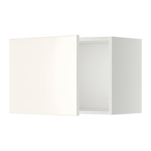 МЕТОД Шкаф навесной - 60x40 см, Веддинге белый, белый
