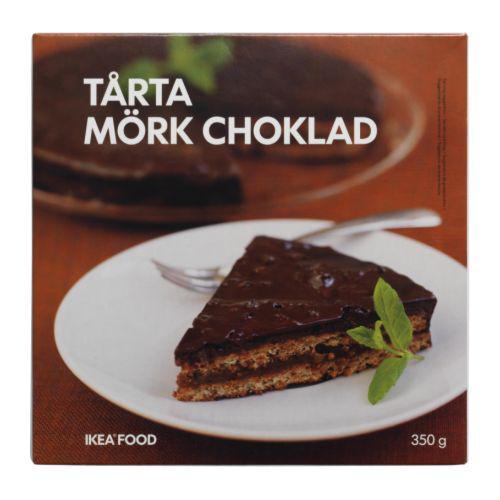 TÅRTA MÖRK CHOKLAD Миндальн торт с темн шок, заморож