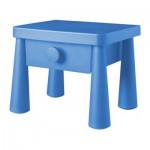 МАММУТ Тумба прикроватная - синий