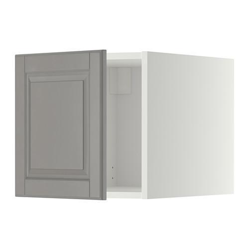 МЕТОД Верхний шкаф - Будбин серый, белый