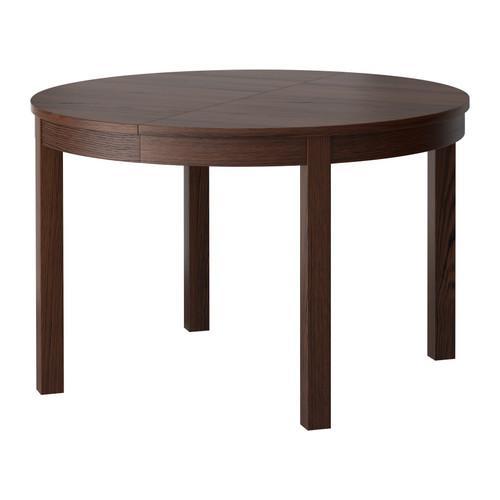 БЬЮРСТА Стол обеденный - коричневый
