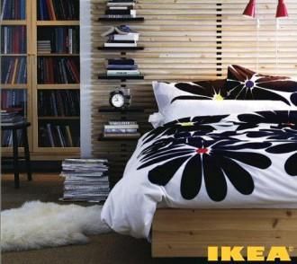 Interer dormitor în fotografii în stil rustic