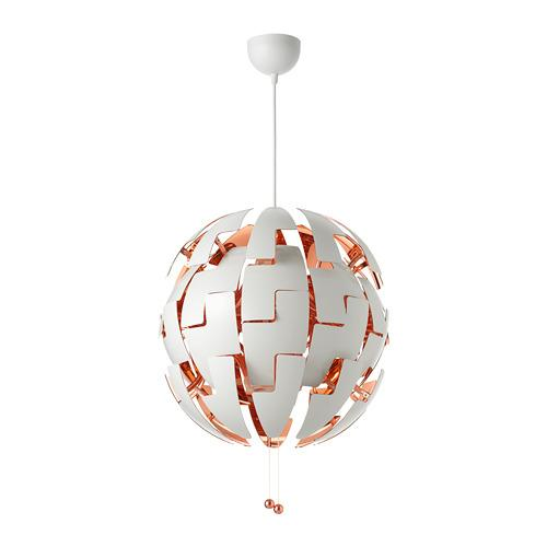 ИКЕА ПС 2014 Подвесной светильник - белый/медный