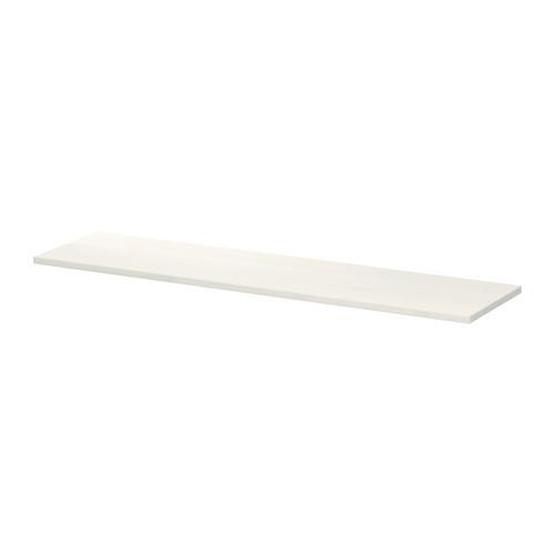 ЭКБИ ХЕМНЭС Полка - белый, 119x28 см
