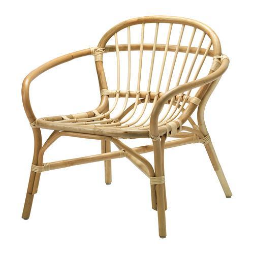 ALBACKEN кресло серый