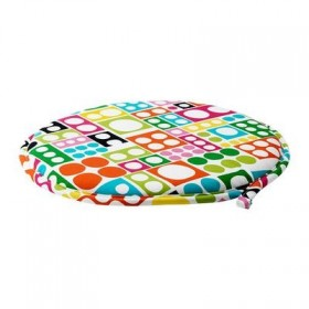 Zillah cushion on a chair - multicolored