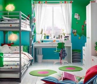 Mimpi kamar untuk dua anak laki-laki