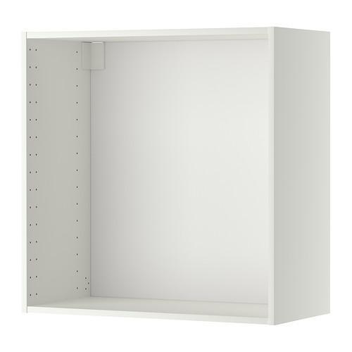 МЕТОД Каркас навесного шкафа - 80x37x80 см, белый