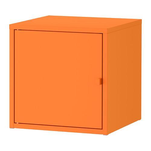 Lixhult Metalen Kast Oranje