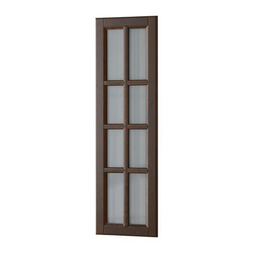 ДАЛАРНА Стеклянная дверь - 30x100 см