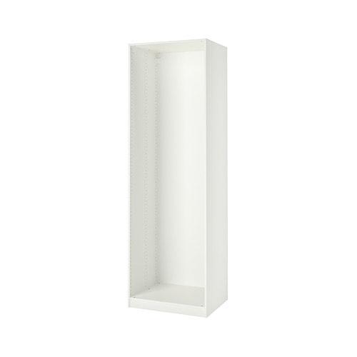 ПАКС Каркас гардероба - белый, 75x58x236 см