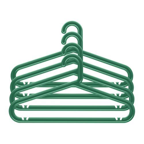 БАГИС Плечики, д/дома/улицы - -, зеленый