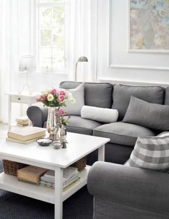Elegantes Wohnzimmer von IKEA
