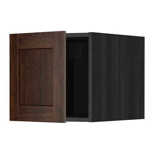 МЕТОД Верхний шкаф - Эдсерум под дерево коричневый, под дерево черный