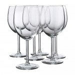 SVALKA red wine glass clear glass