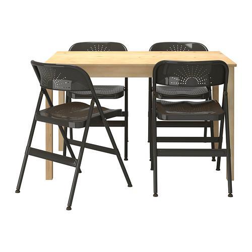 Inga / Frodo 4 bord og stoler
