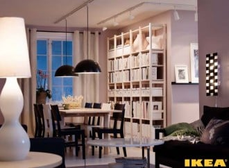Interior IKEA dining