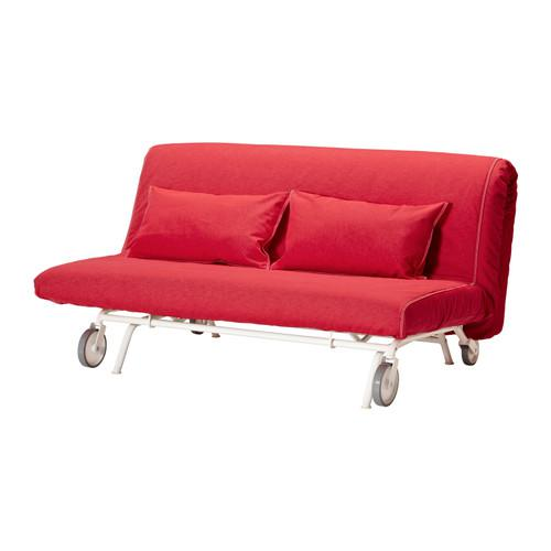 IKEA / PS LEVOS Divano letto 2-local - Vansta rosso, rosso Vansta
