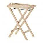 НОРДБИ Стол сервировочный - каучуковое дерево