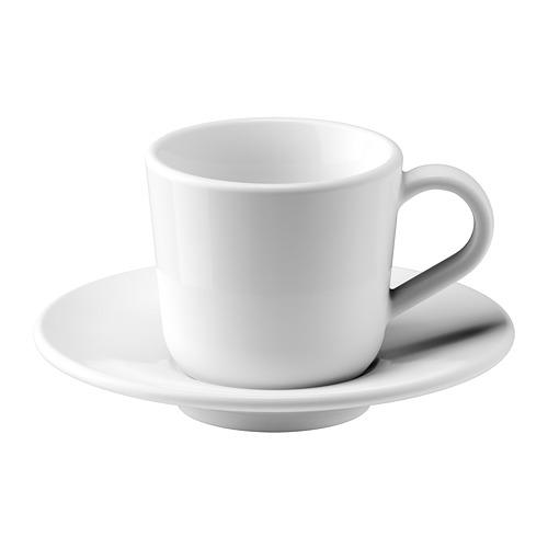 ИКЕА/365+ Чашка для кофе эспрессо с блюдцем