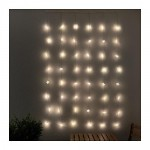 STROLA Festoon-drapery,48 LED