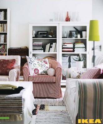 Interiør stue, amerikansk stil