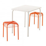 VEDDO / VESTERON Garden Table + 2 stool